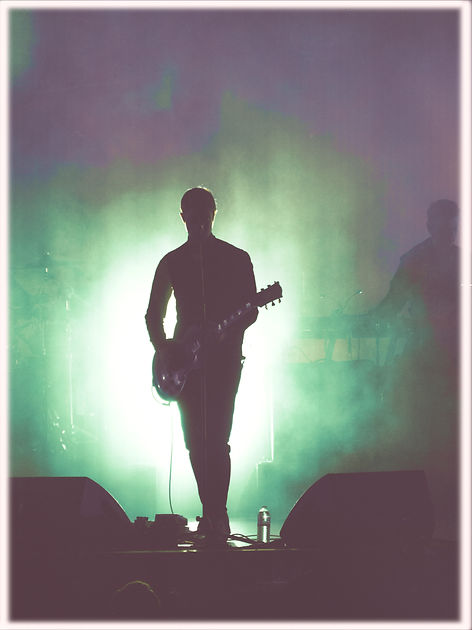 Interpol, Paul Banks, Synesthesia, Corgam, Experimental Concert Photography