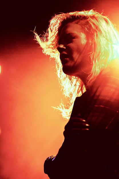 The Kills, Alison Mosshart, Contrast, Backlight, Concert Photography, Music Photography, Blood Orange