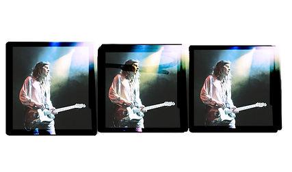 Experimental Photography, Facial Band, Fender Telecaster, Live Concert, Corgam