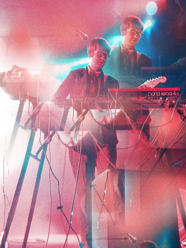Public Service Broadcasting; Corgam; Synesthesia; Concert Photography; Experimental Photography; Double Exposure