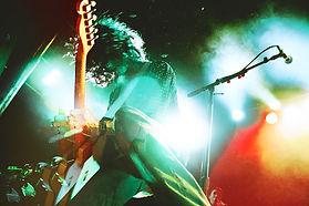 CRX, Nick Valensi, The Strokes, Fender Telecaster, Fans, Front Row, Light Leaks, Experimental Photography, Shredder