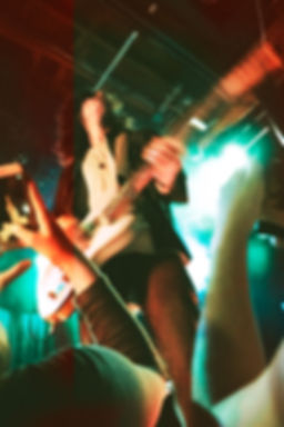 CRX, Nick Valensi, The Strokes, Fender Telecaster, Fans, Front Row, Light Leaks, Experimental Photography