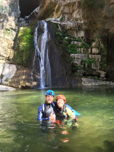Dernière cascade du Chorreadero. Le débit est correct