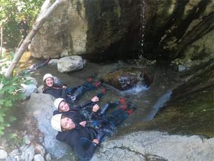 Le canyoning et la spéléologie : des activités compatibles avec le mauvais temps dans les PO !