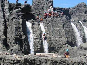 Canyoning Park d'Argelès sur mer ou canyoning naturel dans les montagnes ?