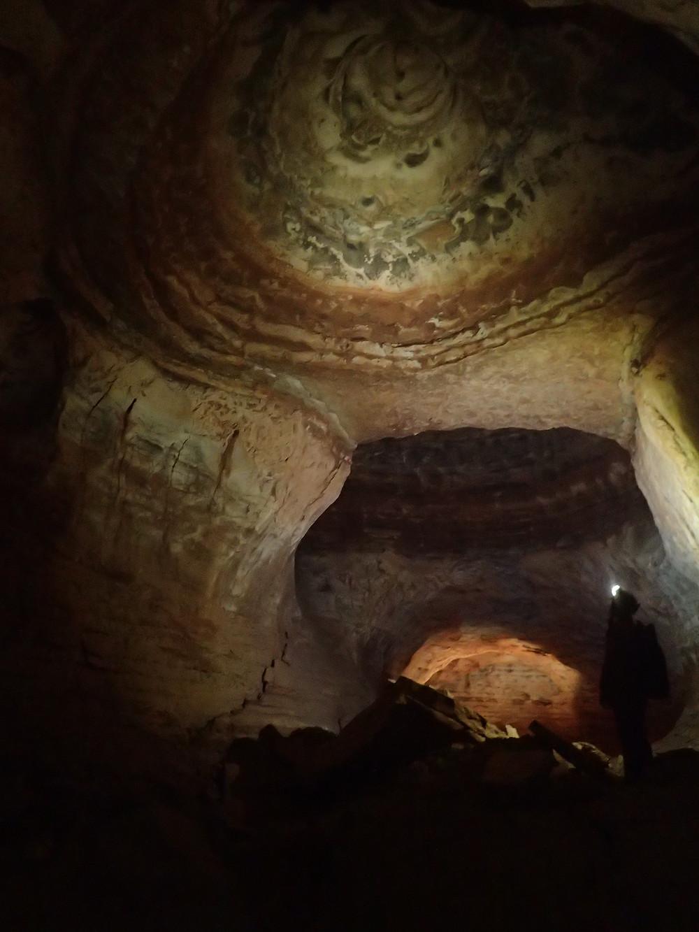 L'une des somptueuses coupoles du réseau Leicasse, Hérault