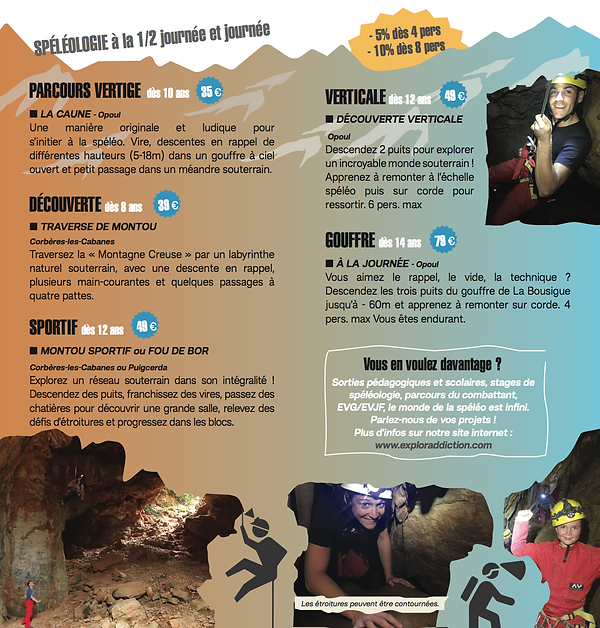 Spéléologie dans les Pyrénées Orientales