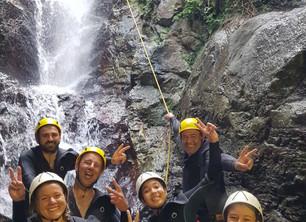 Le canyoning en eaux chaudes à la Toussaint, c'est l'idéal !
