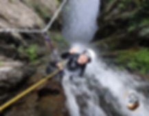 Canyoning du Baossous Pyrénées Orientales