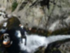 Canyoning Cady Pyrénées Orientales
