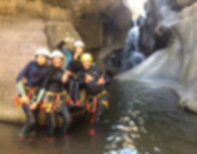 Canyoning en famille de La Castellane à Prades, Pyrénées Orientales