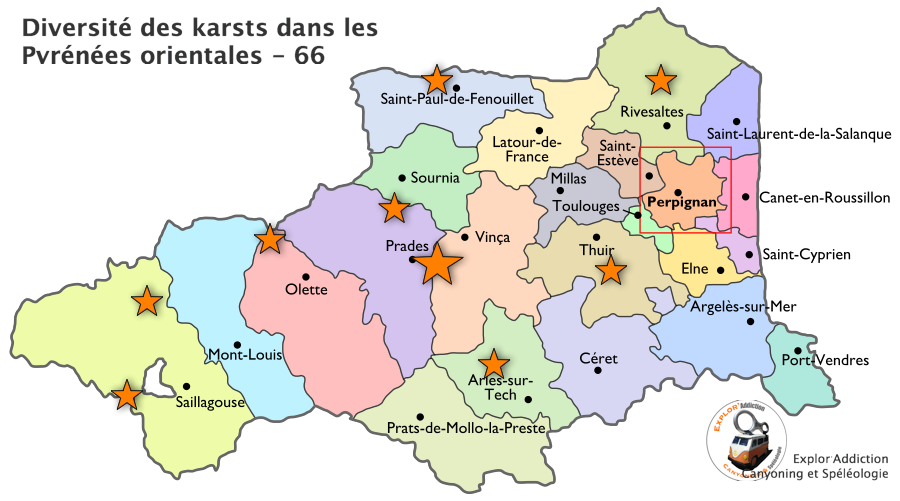 Comprendre la diversité des karsts et des grottes des Pyrénées Orientales