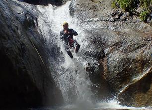 Conditions aquatiques parfaites dans les canyons des Pyrénées Orientales