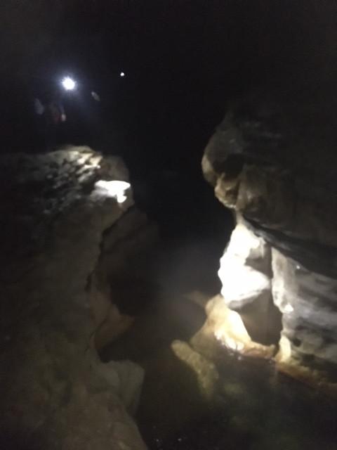 Analyse de l'obstacle dans le canyon du Chorreadero