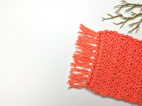How to Crochet a Rug Coaster