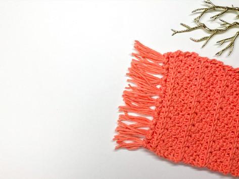How to Crochet a Rug Coaster