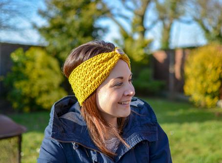 Breezy Beach Ear Warmer  Crochet Pattern