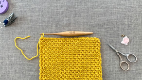 How To Crochet The Linen // Moss Stitch (US Terms)