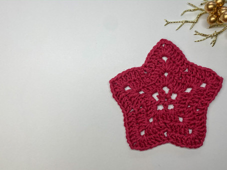 How to Crochet a Star Coaster