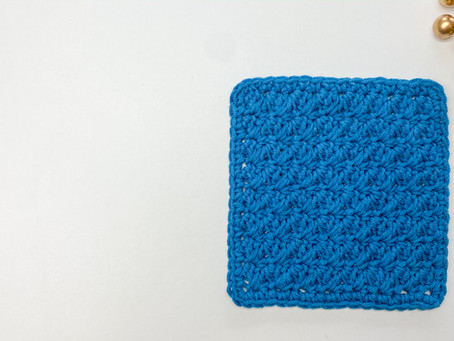 How to Crochet a Suzette Stitch Coaster