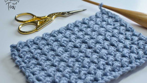 How To Crochet The Even Moss Variation Stitch (US Terms)