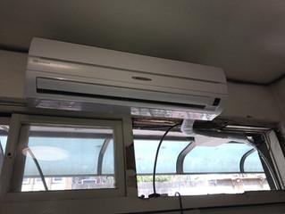 窗型孔改安裝分離式的各種樣式參考 @新北新莊、台北大同區
