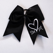 Cheerleading bow (black)