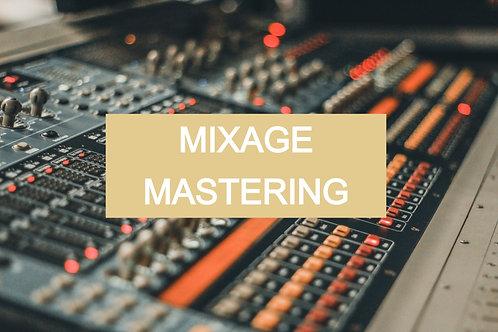 Mixage & Mastering audio en ligne