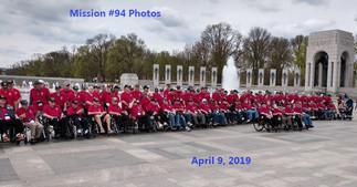 Mission #94 Photos - April 9, 2019