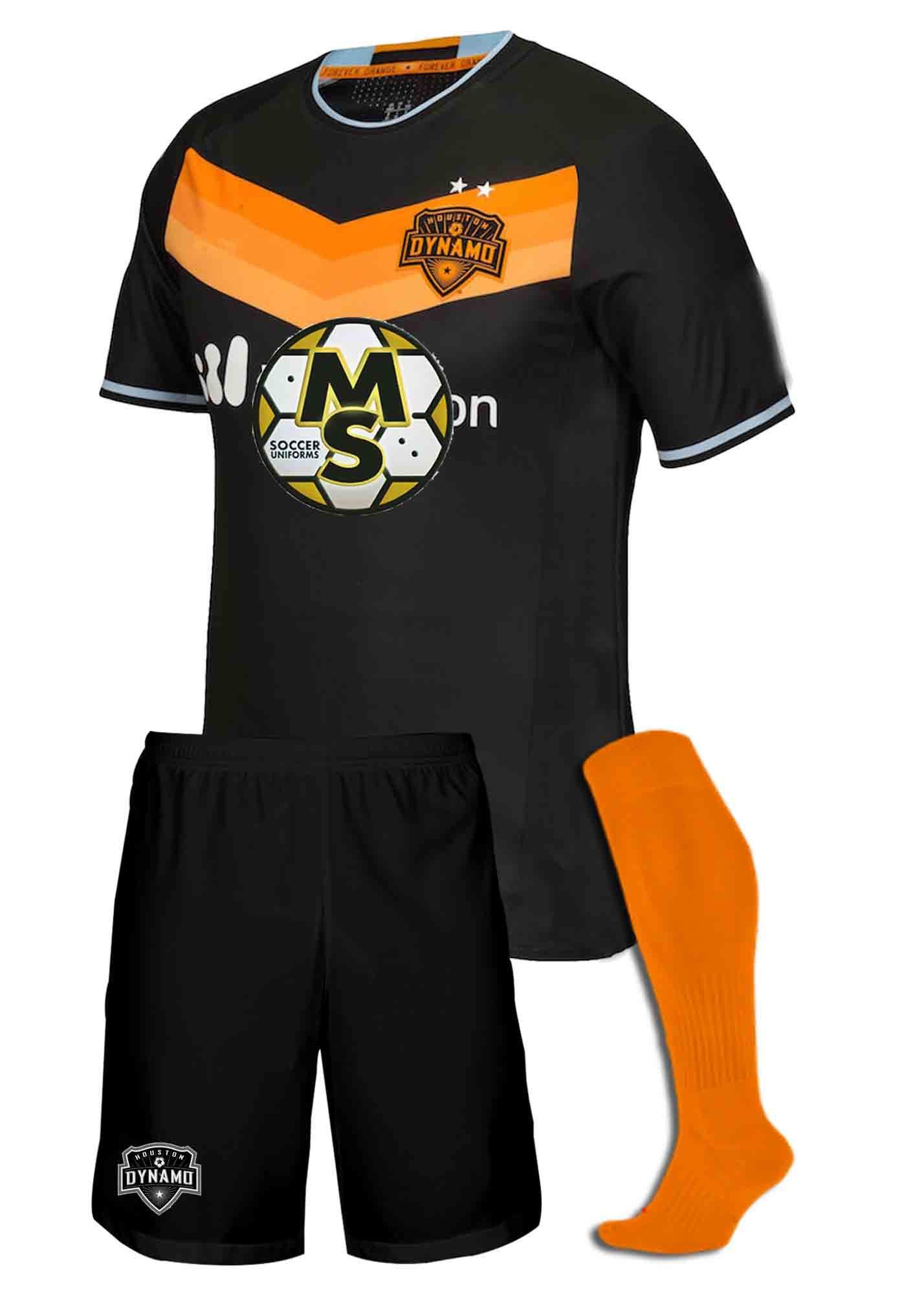 buy online acc98 459a8 Uniformes de futbol soccer Houston Dynamo 2018/2019