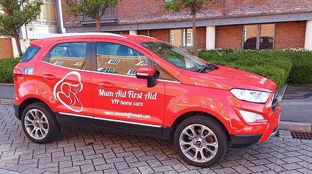 Mum Aid First Aid Car