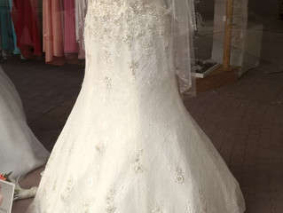 A Real Wedding Dress for a real woman