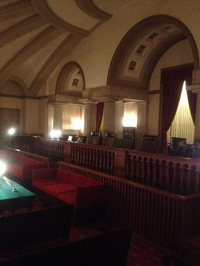 Original U.S. Supreme Court chambers in the U.S. Capitol building