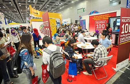 Malaysia's 100 Graduate Careers Fair in the Star's myStarjob.com website