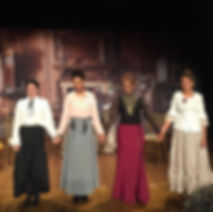 Cast of 'In the Parlour'