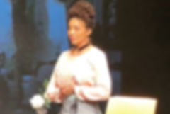 Celestine Rae as Nellie Quander in 'In th Parlour'