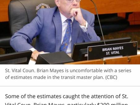 Transit Master Plan - Not Quite Ready Yet