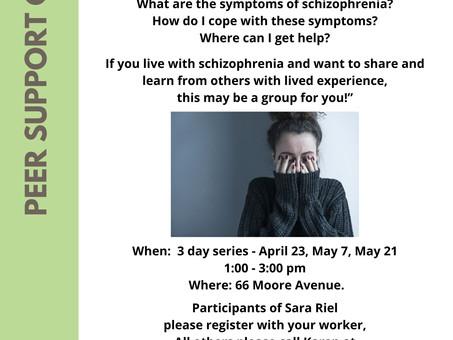 Sara Riel Inc. is offering Self-Help Groups during Mental Health Week