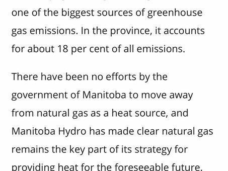 Building Emissions Contribution to GHG