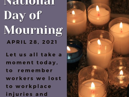 National Day of Mourning 2021