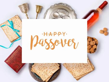 Happy Passover 2021