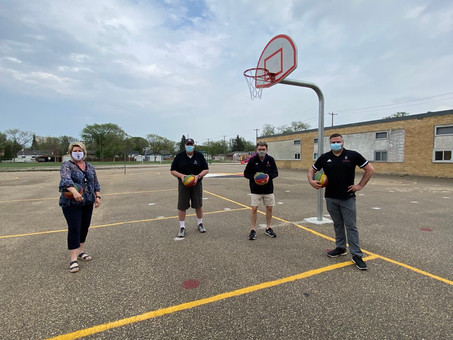 Basketball upgrades at St. George School