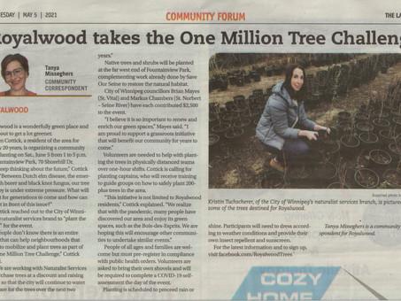 Royalwood Takes the 1 Million Tree Challenge