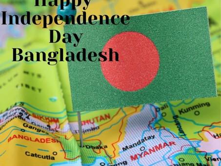 Happy Independence Bangladesh!