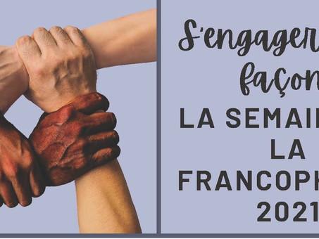 Semaine de la francophonie 2021