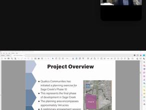 Phase 10 of Sage Creek Webinar