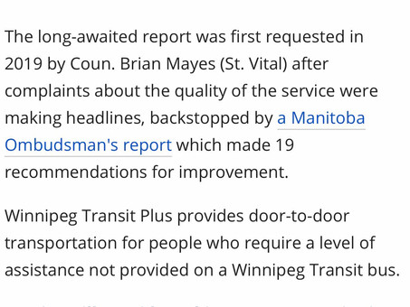 Bring Transit Plus back in-house