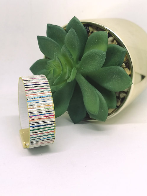 """Armband """"multicolor """" rundsleder . M505"""