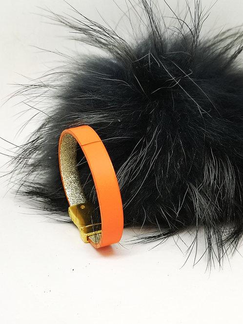 Armband in fluo orange M132