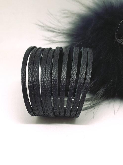 """Armband """"julia"""" black .N350"""